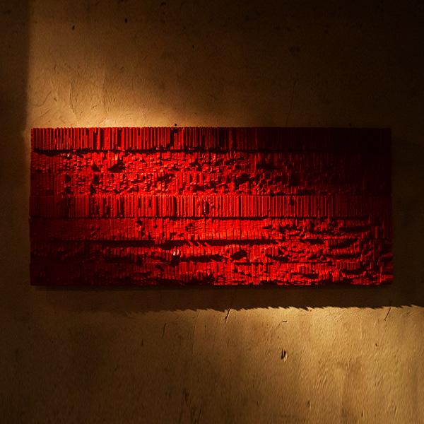quadro-matrice-rettagolare-rosso-rodoflo-lacquaniti